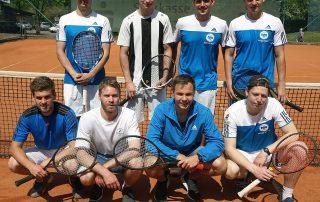 Die Herren I der TG Neunkirchen überraschten in der Bezirksliga zum Auftakt mit einem Auswärtssieg beim 1. Regensburger Tennis-Klub.